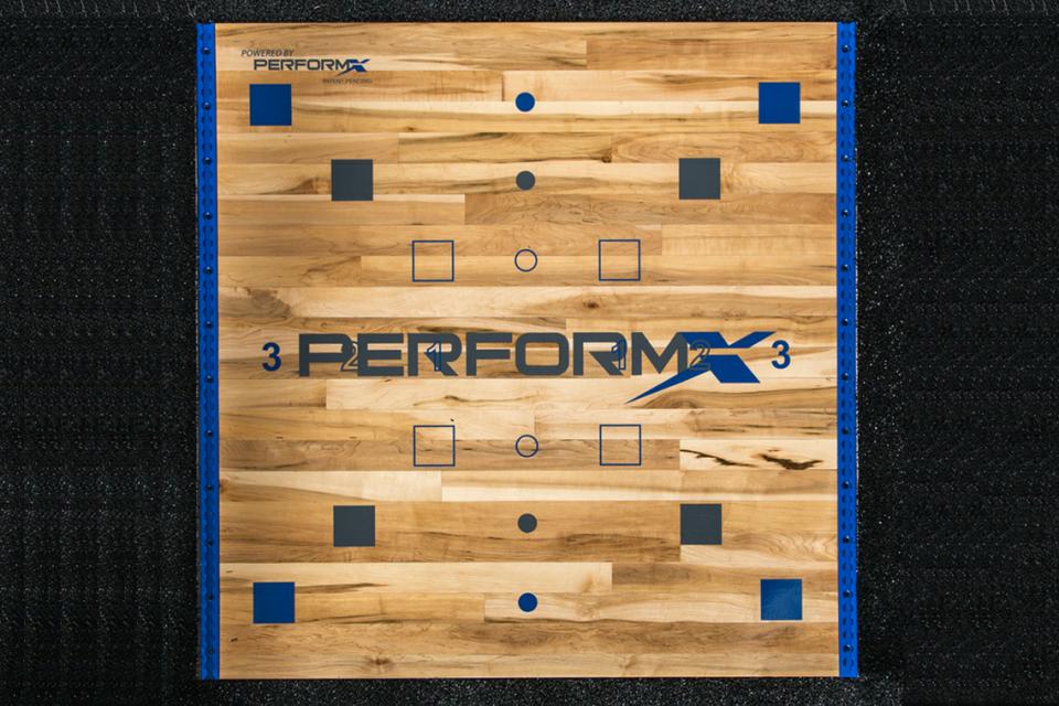 Perform-X Plyo-X Platform with Trak-X
