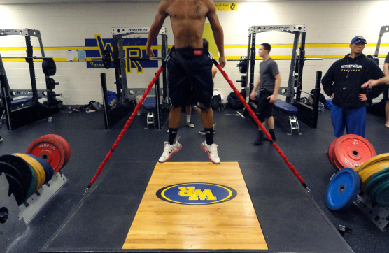 Converting Existing Lifting Platforms to Plyometric Stations