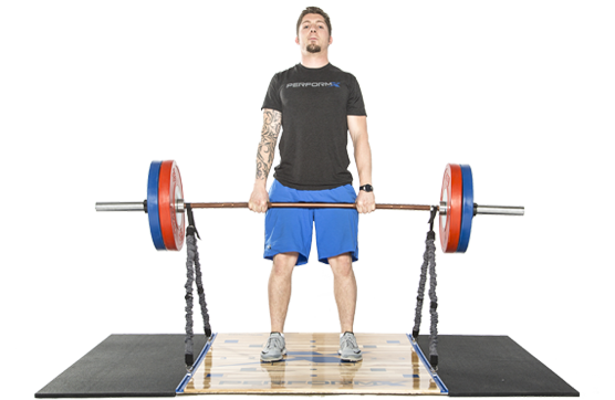 Cord-Loaded Deadlifts using The Trak-X™ System