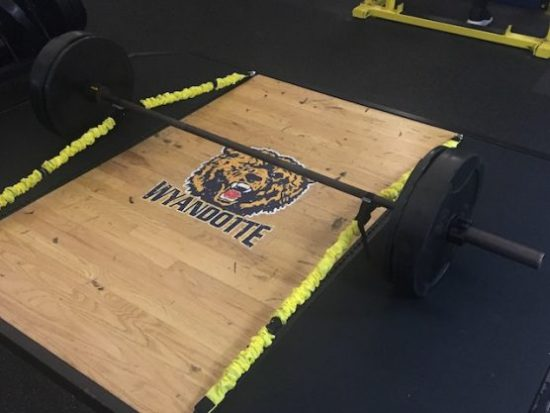 Retrofit your weight room to improve strength & power: a case study